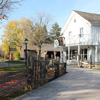 historic buildings at Black Creek Pioneer Village
